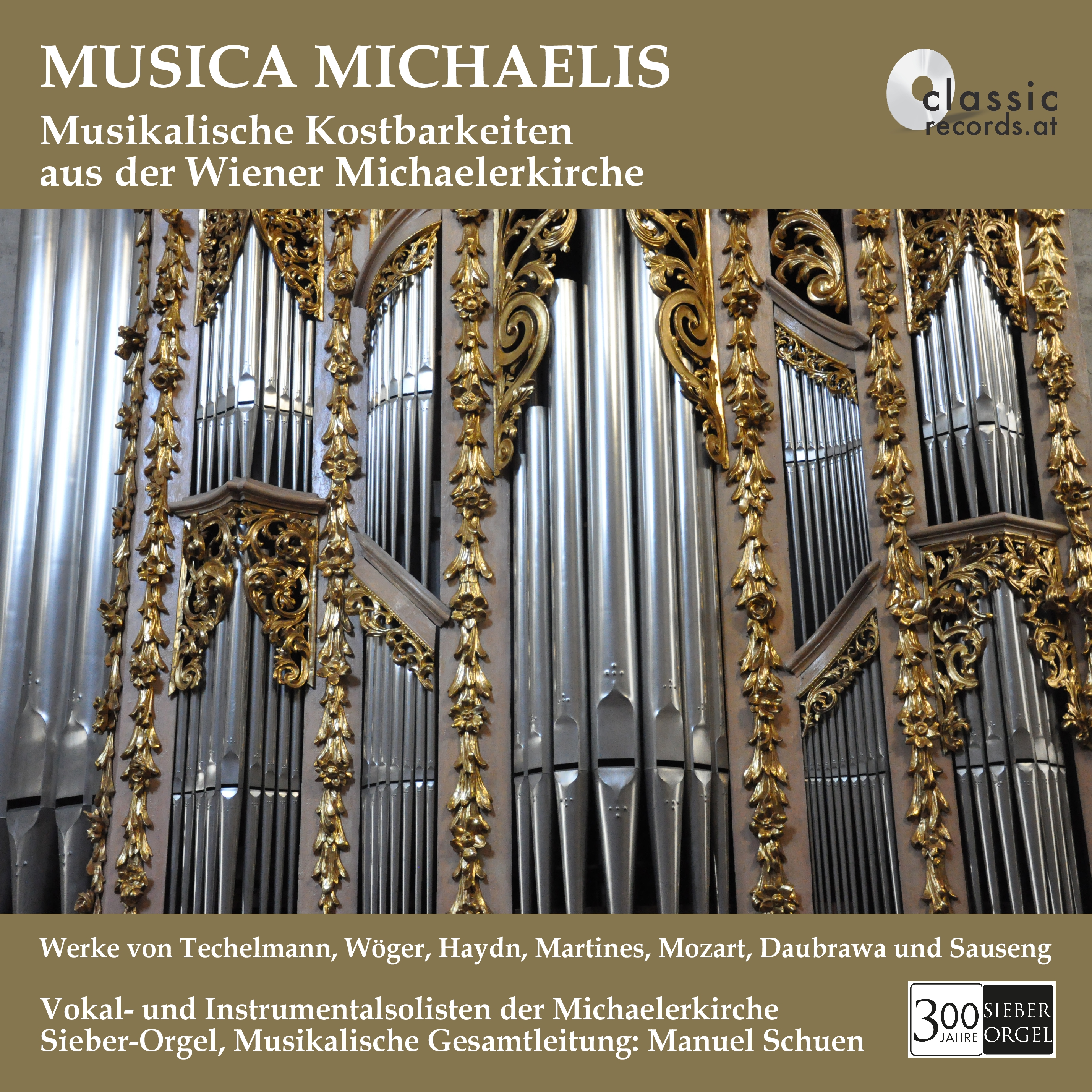 "Jubiläums-CD ""Musica Michaelis"""