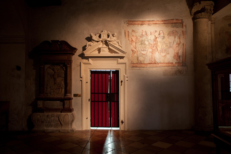 Portal der Turmkapelle (1643)<br/>restauriert 2012