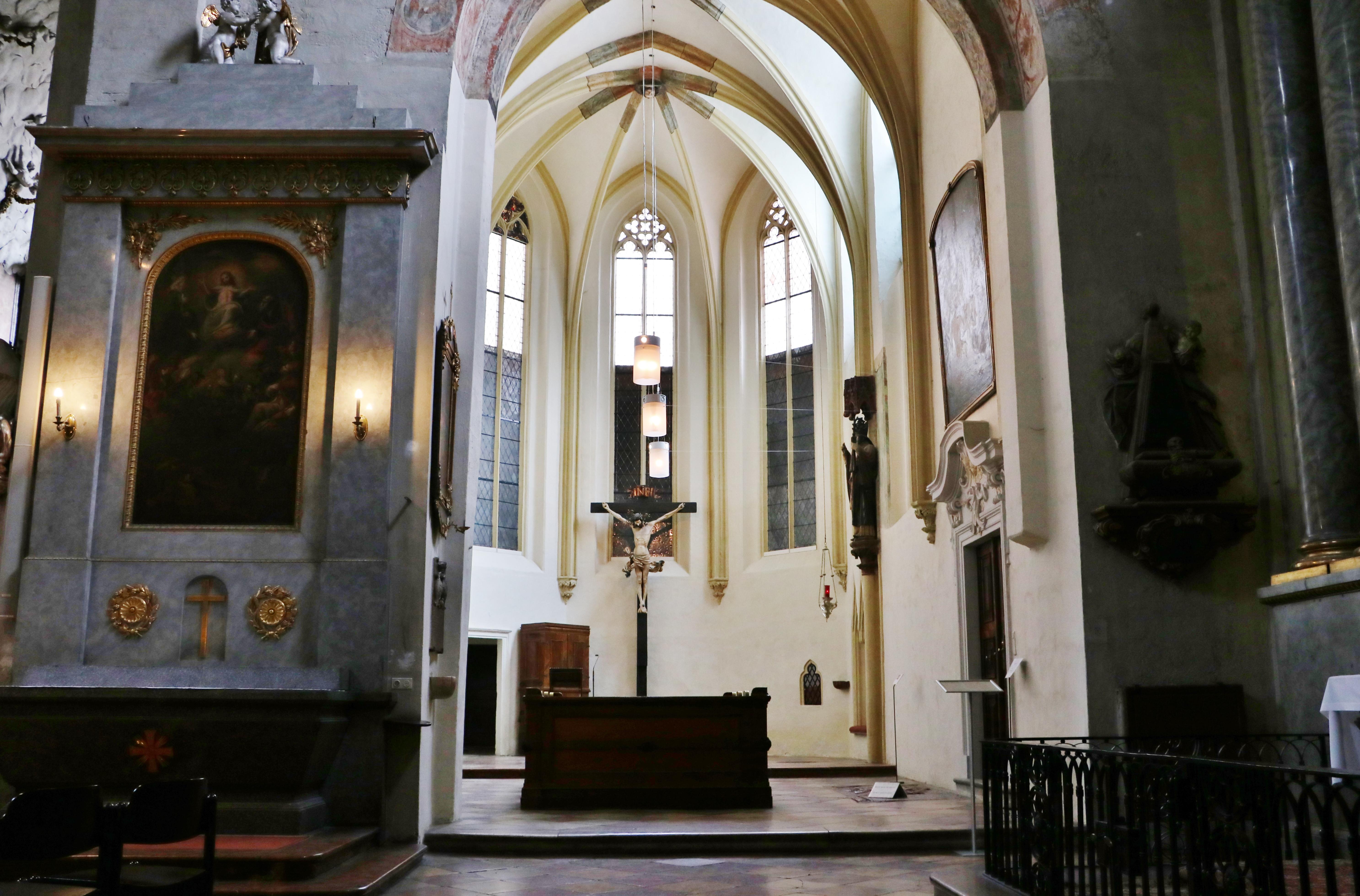Kreuzkapelle (1350)<br/>restauriert 2011/2012