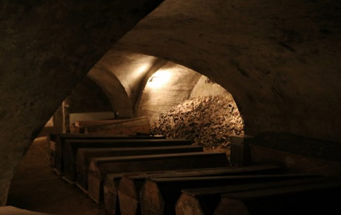 Guided tours of the crypt