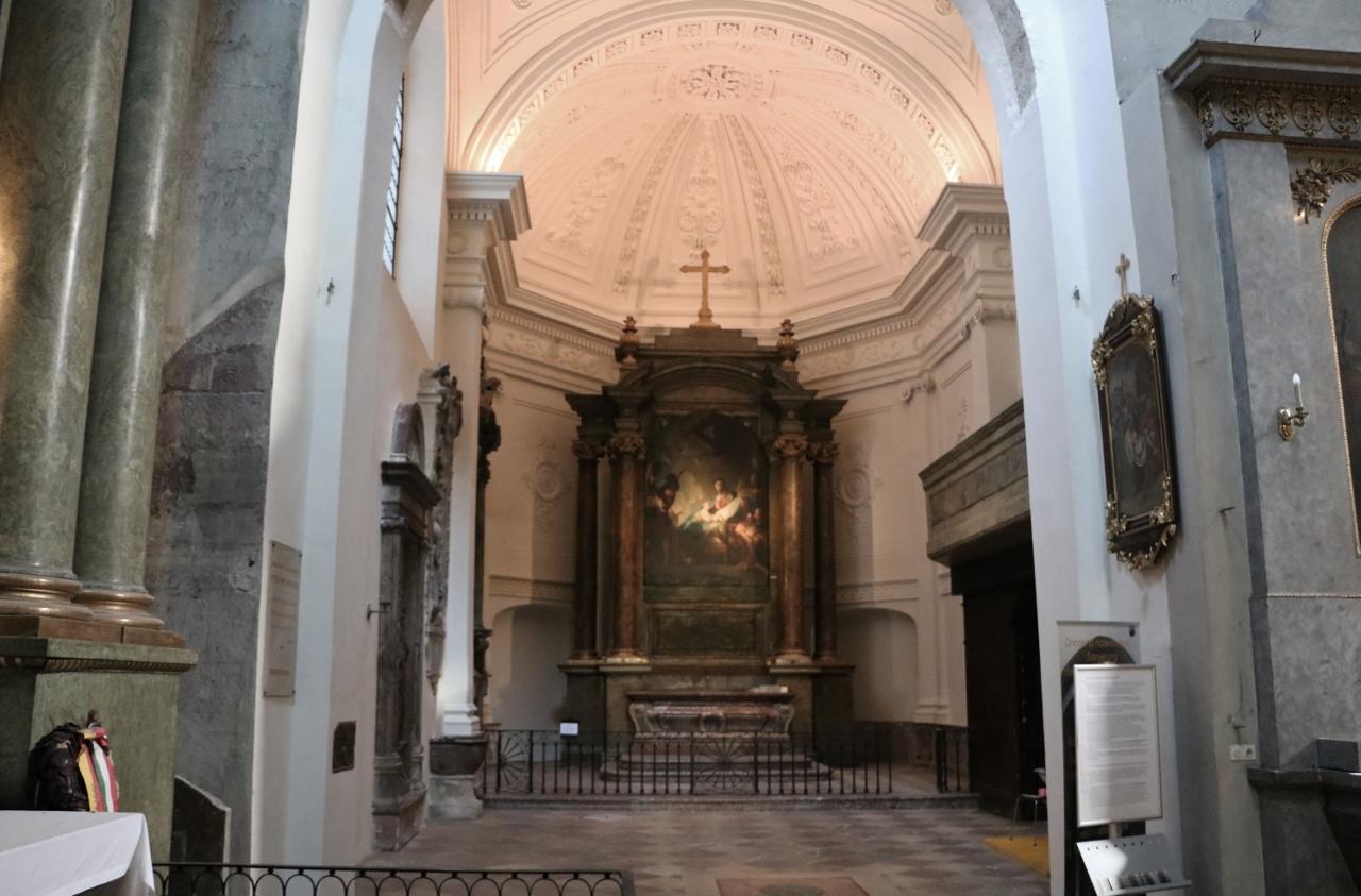 Werdenbergkapelle, in Arbeit