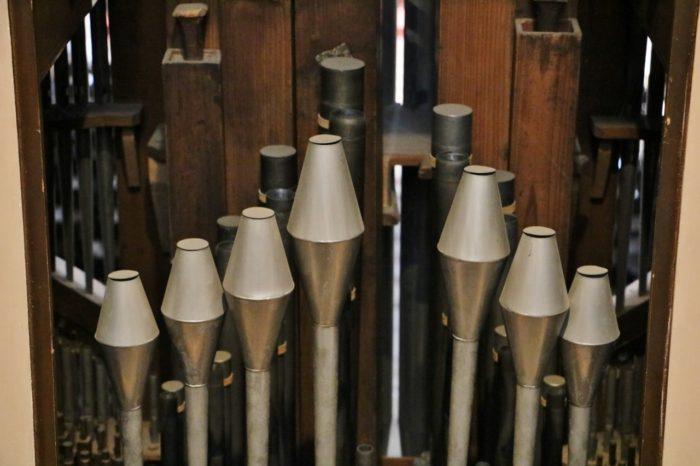 Arbeiten an der Sieber-Orgel zu Wien
