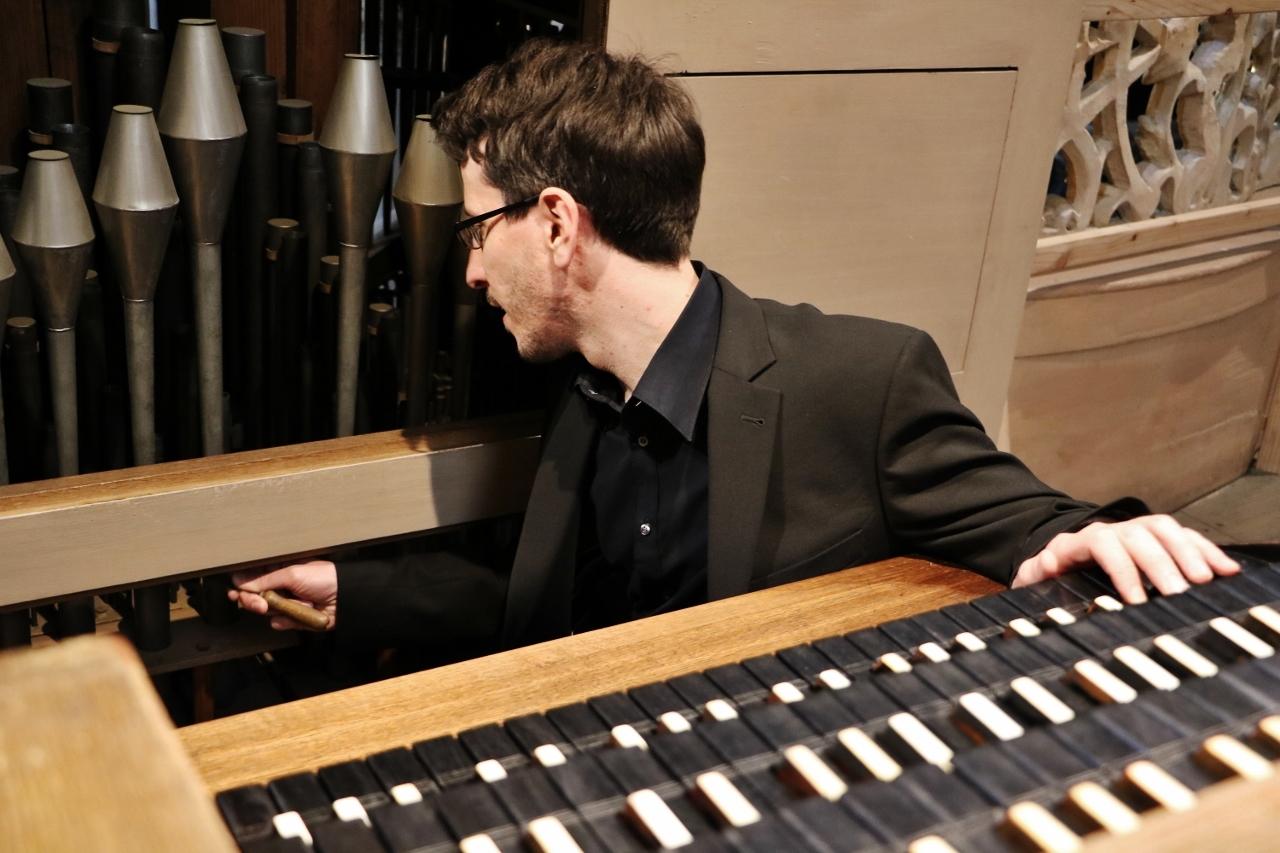 Reinigung und Instandsetzung der Orgel