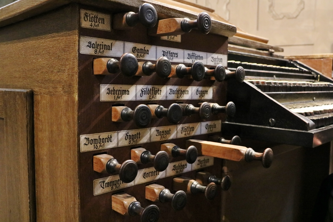 Disposition der Orgel