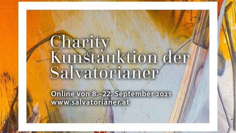 Salvatorianische Charity-Kunstauktion ONLINE