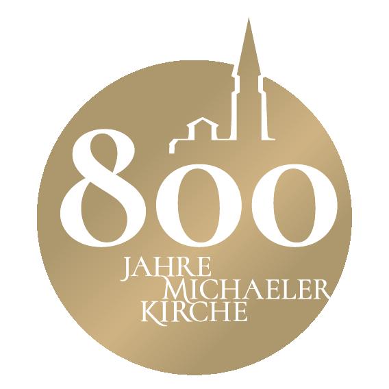 Logo 800 Jahre Michaelerkirche
